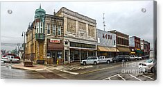 Grinnell Iowa - Downtown - 01 Acrylic Print by Gregory Dyer