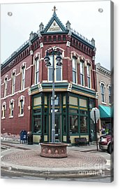 Grinnell Iowa - Downtown - 03 Acrylic Print by Gregory Dyer