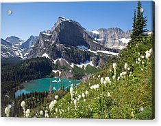 Grinnell Lake With Beargrass Acrylic Print by Jack Bell