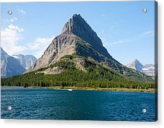 Grinnell Point Acrylic Print by John M Bailey