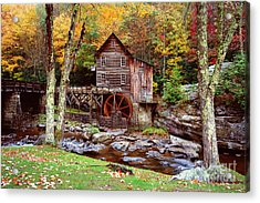 Grist Mill In Babcock St. Park Acrylic Print