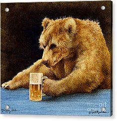 Grizzly Beer... Acrylic Print