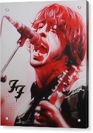 Dave Grohl - ' Grohl II ' Acrylic Print