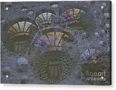 Groovy Acrylic Print by Luke Moore