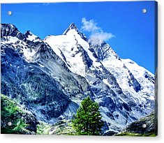 Grossglockner Acrylic Print by Andreas Thust