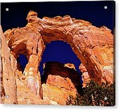 Grosvenor Arch Sunset Kodachrome Basin Acrylic Print
