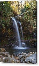 Grotto Falls I Acrylic Print
