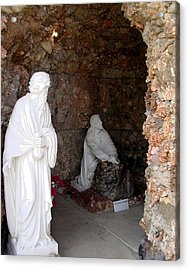 Grotto Of Redemption - Gesthemane Acrylic Print by Dusty Reed