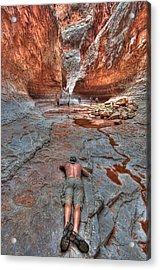 Grotto Stretch Acrylic Print