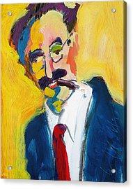 Groucho Acrylic Print