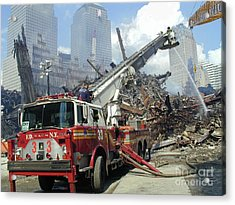 Ground Zero-1 Acrylic Print by Steven Spak