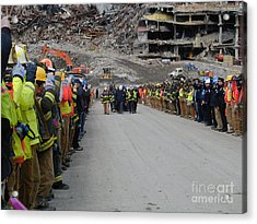 Ground Zero-3 Acrylic Print