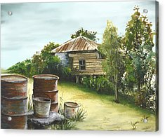 Groundwater Residence Of Days Gone By Acrylic Print