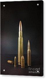 Group Of Bullets Acrylic Print