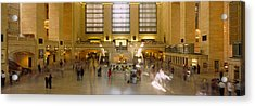 Group Of People In A Subway Station Acrylic Print by Panoramic Images