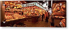 Group Of People In A Vegetable Market Acrylic Print