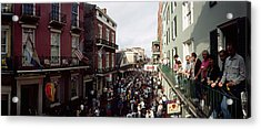 Group Of People Participating Acrylic Print by Panoramic Images