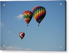 Grouped Up Acrylic Print by Miguelito B