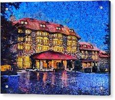 Grove Park Inn Acrylic Print