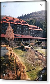 Grove Park Inn In Early Winter Acrylic Print