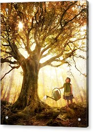 Growing Up Is Made Of Small Things Acrylic Print by Christophe Kiciak
