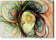Growth Acrylic Print by Anastasiya Malakhova