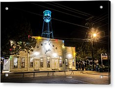 Gruene Hall Acrylic Print by Andy Crawford