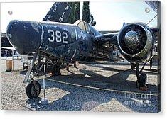 Grumman Tigercat F7f-3n  -  03 Acrylic Print by Gregory Dyer