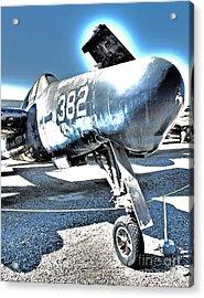 Grumman Tigercat F7f-3n  -  04 Acrylic Print by Gregory Dyer