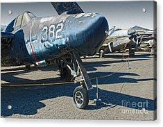 Grumman Tigercat F7f-3n  -  01 Acrylic Print by Gregory Dyer