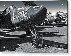Grumman Tigercat F7f-3n  -  02 Acrylic Print by Gregory Dyer
