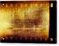 Grunge Filmstrip Acrylic Print