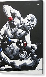 Gsp Ground N Pound Acrylic Print