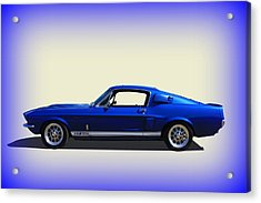 Acrylic Print featuring the photograph Gt350 Mustang by Keith Hawley