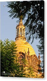 Acrylic Print featuring the photograph The Grand Cathedral Of Guadalajara, Mexico - By Travel Photographer David Perry Lawrence by David Perry Lawrence