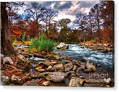 Guadalupe In The Fall Acrylic Print