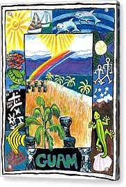 Guam Acrylic Print by Genevieve Esson