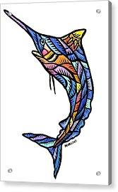 Guam Marlin 2009 Acrylic Print