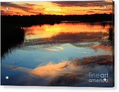 Guana River Sunset Acrylic Print