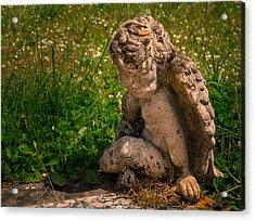 Guardian Angel Acrylic Print by Jean Noren