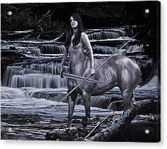 Guardian II Acrylic Print by Sean Holmquist