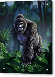 Guardian Acrylic Print by Jerry LoFaro