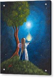 Guardian Of Light By Shawna Erback Acrylic Print by Shawna Erback