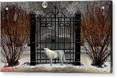 Guardian Of The Gate Acrylic Print