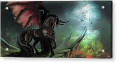 Guardians Acrylic Print by Kate Black