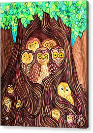 Guardians Of The Forest Acrylic Print by Nick Gustafson