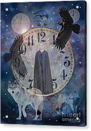 Guardians Of Time Acrylic Print