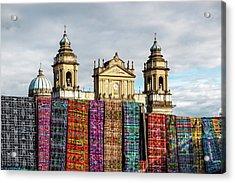 Guatemala City Cathedral Acrylic Print