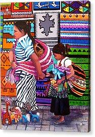 Guayabitos Mercado Acrylic Print