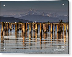 Guemes Channel Trail View Acrylic Print